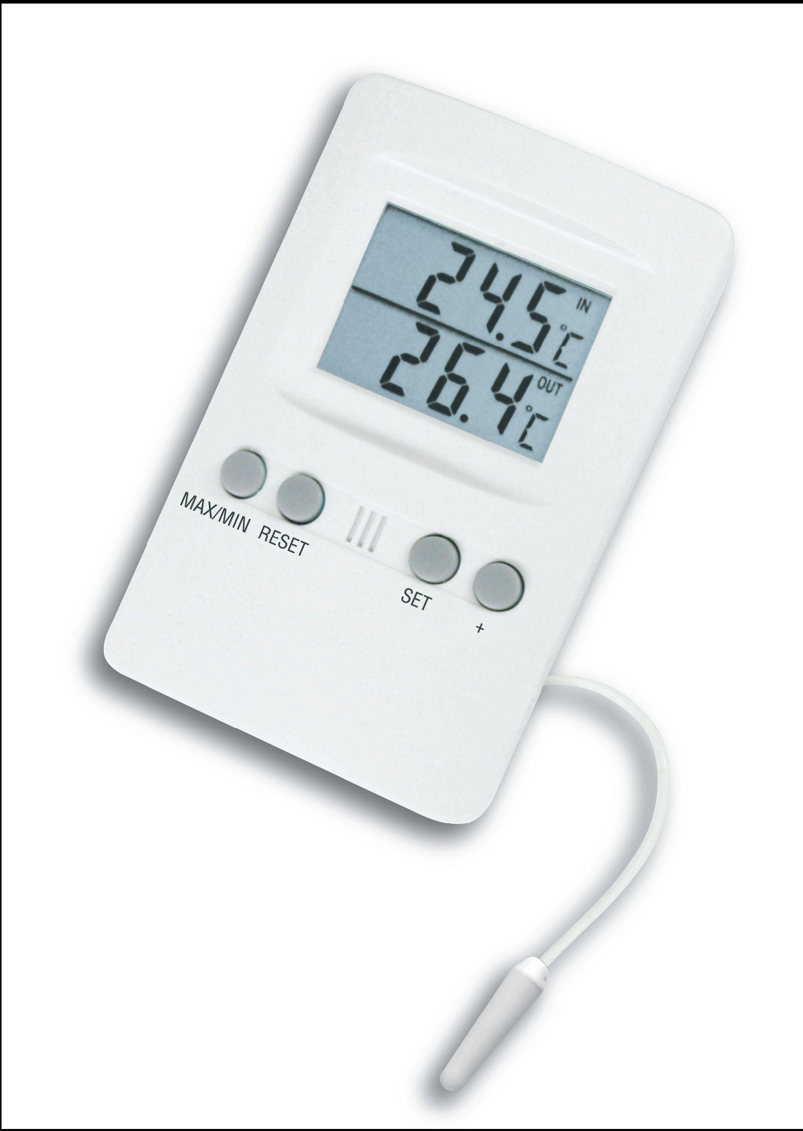 k hlschrank gefrierschrank thermometer 709 mit alarm. Black Bedroom Furniture Sets. Home Design Ideas
