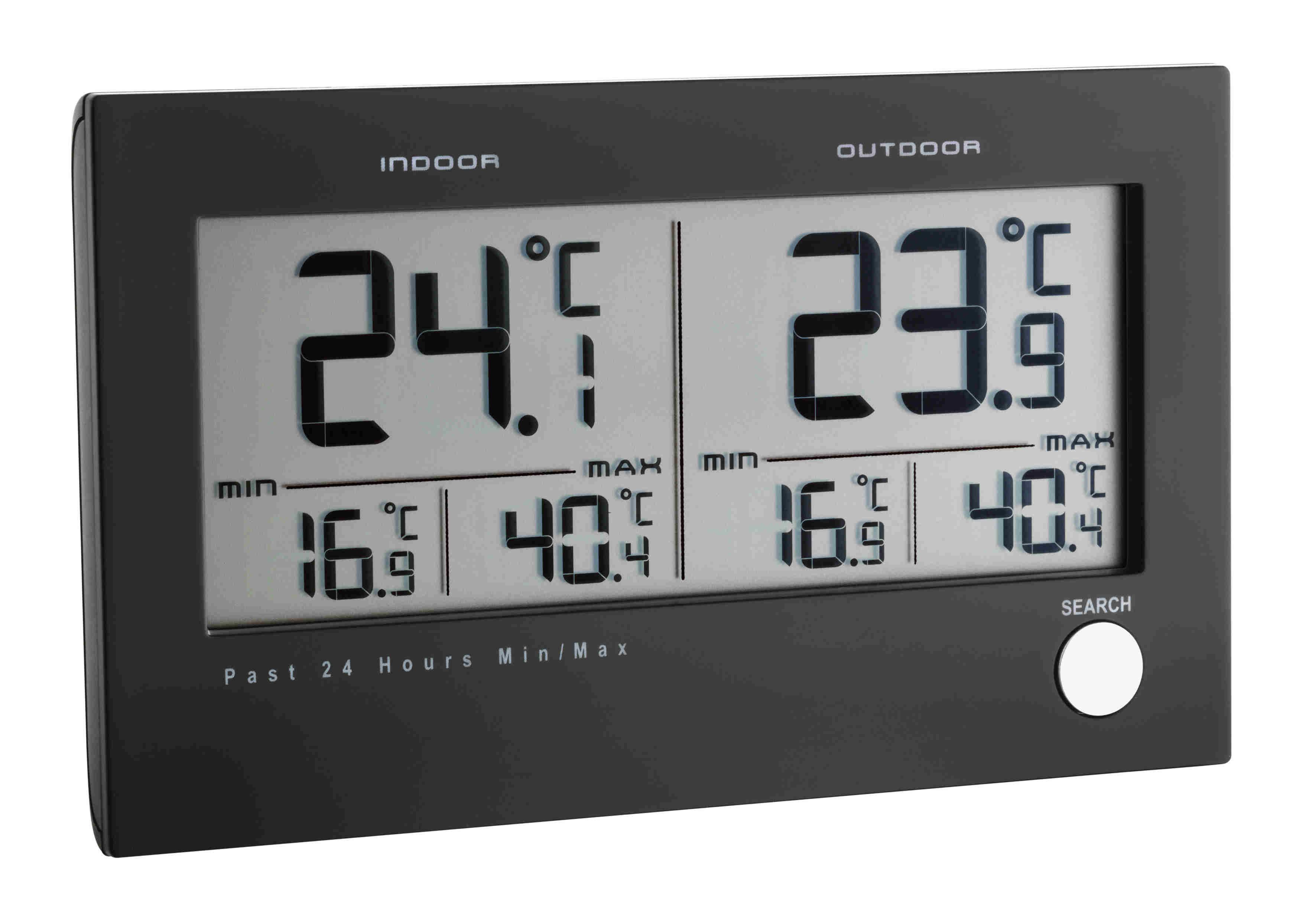 Kühlschrank Thermometer Funk : Tfa dostmann twin funk thermometer