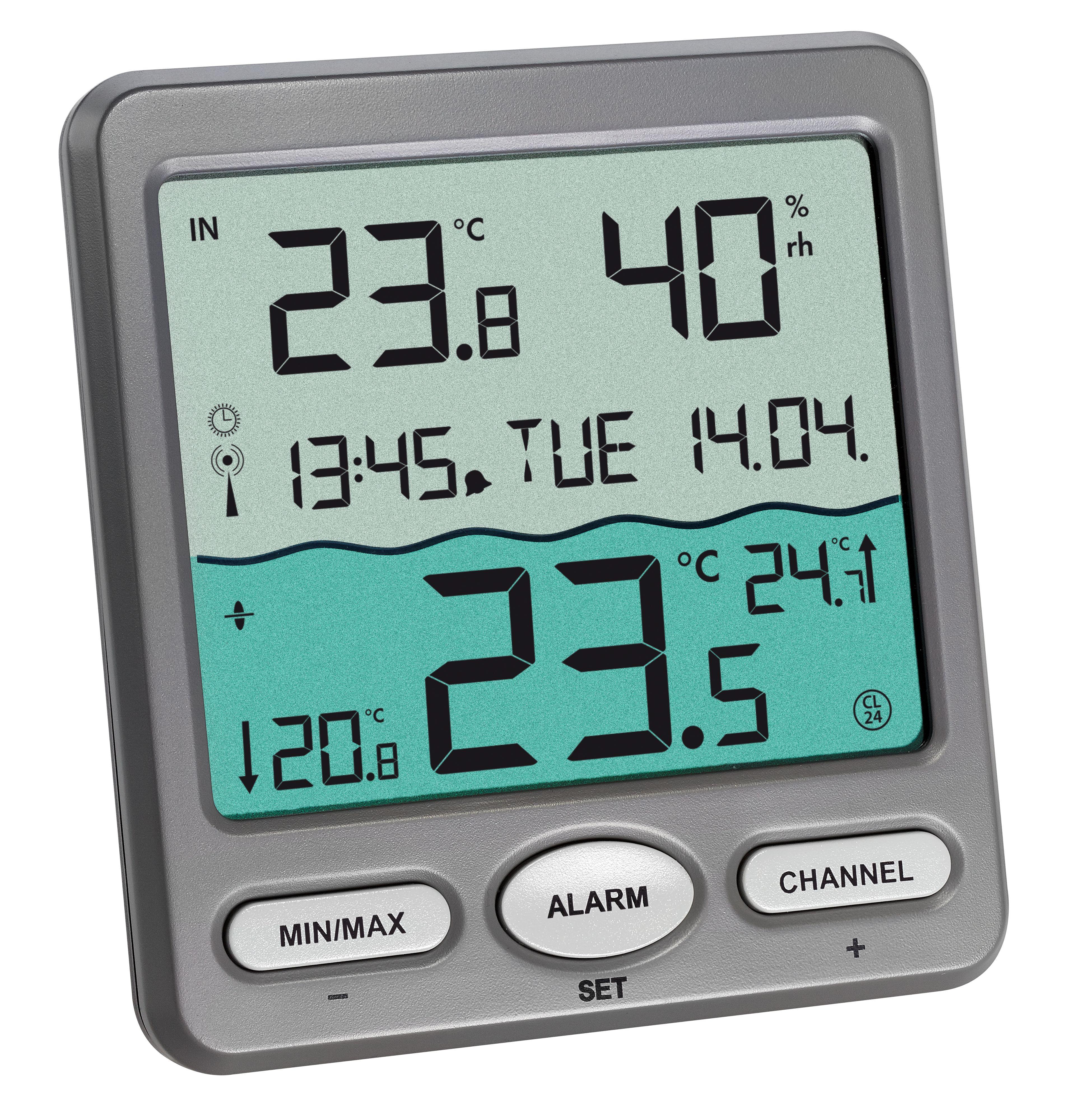 Tfa dostmann venice funk pool thermometer - Thermometre piscine sans fil ...