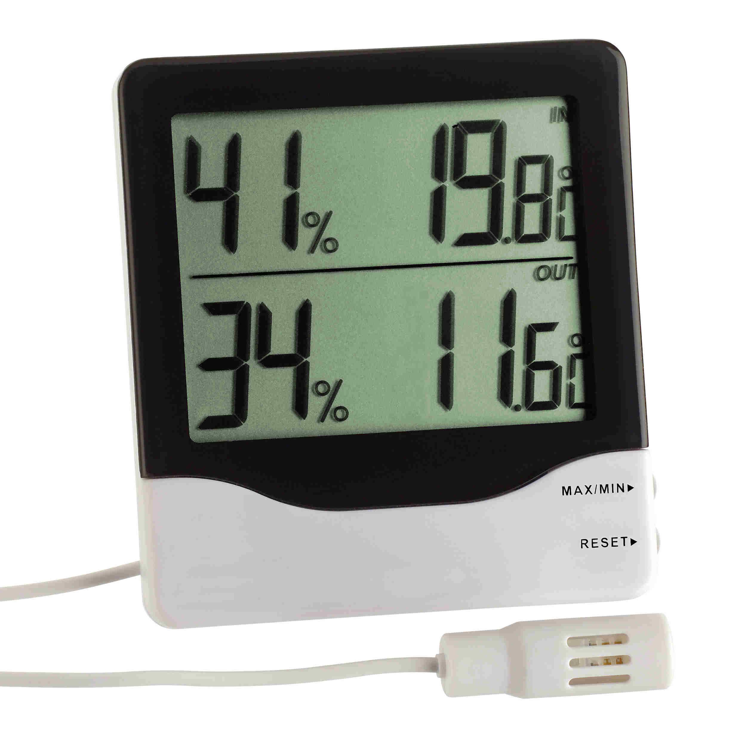 tfa dostmann thermometer hygrometer. Black Bedroom Furniture Sets. Home Design Ideas