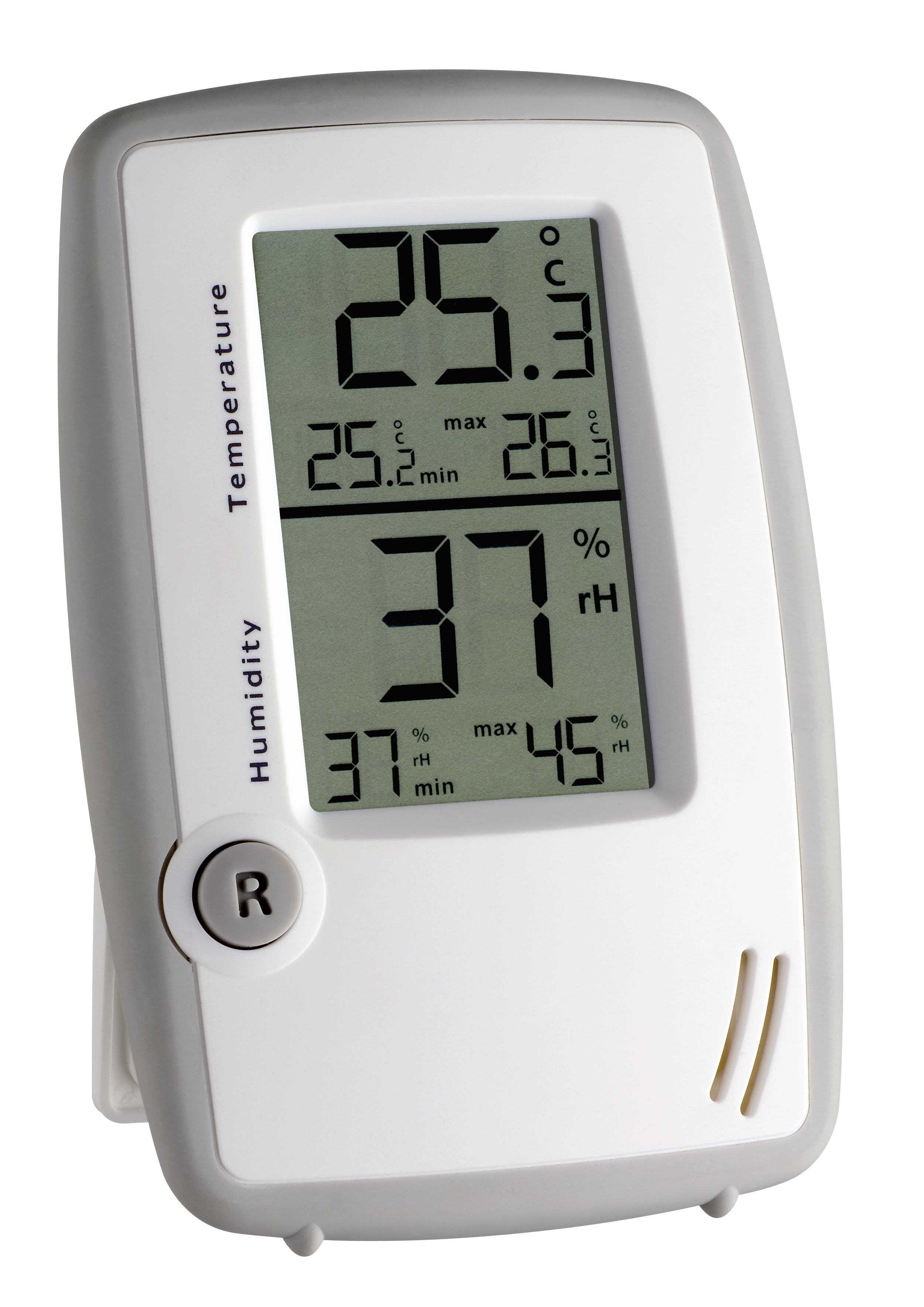 tfa dostmann elektronisches thermo hygrometer. Black Bedroom Furniture Sets. Home Design Ideas