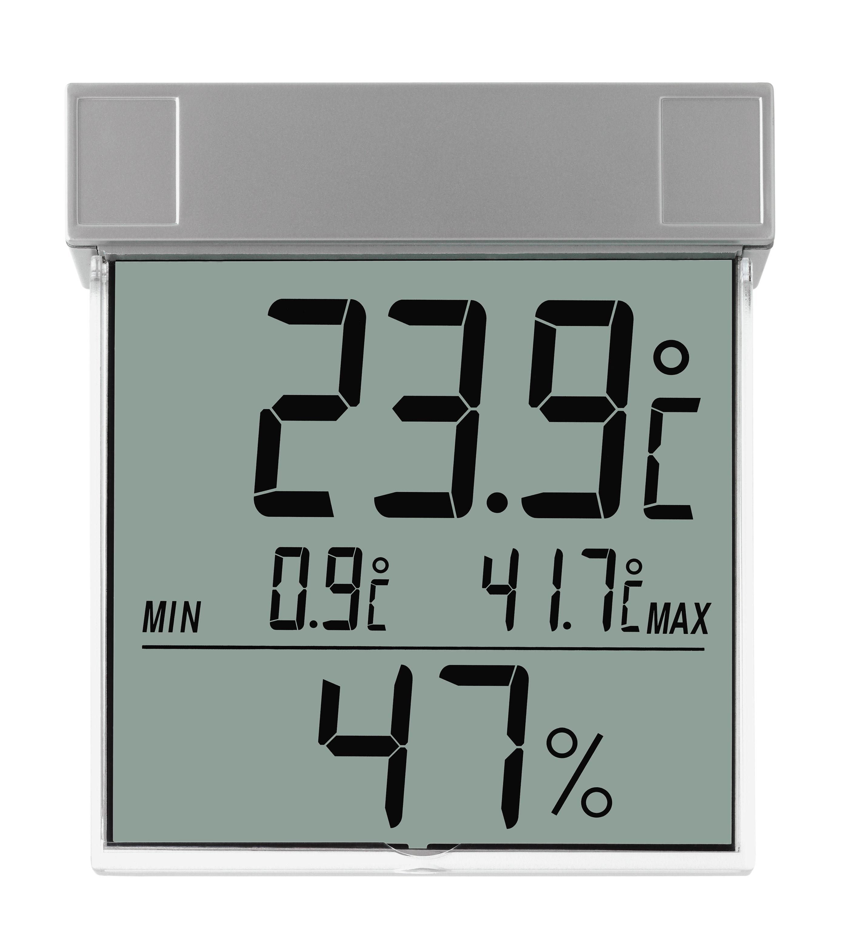 tfa dostmann vision digitales fenster thermo hygrometer 30. Black Bedroom Furniture Sets. Home Design Ideas