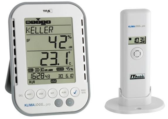 Kühlschrank Thermometer Funk : Teich funkthermometer mit datenaufzeichung