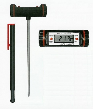 Heuthermometer digital 50cm